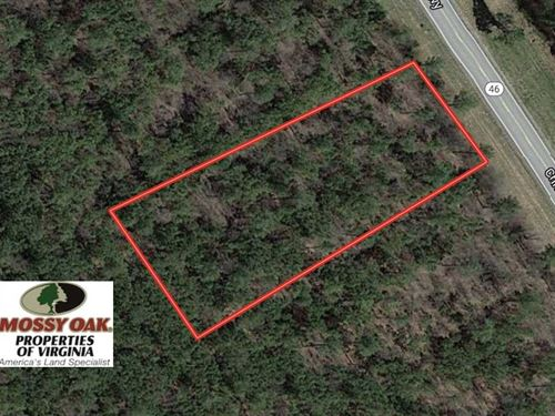 1.02 Acre Residential Lot For Sale : Alberta : Brunswick County : Virginia