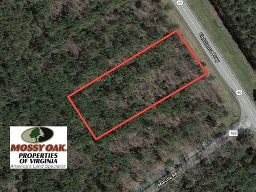 1.04 Acre Residential Lot For Sale : Alberta : Brunswick County : Virginia