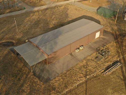 Industrial Sized Duck Lodge at Lon : Cornerstone : Arkansas County : Arkansas