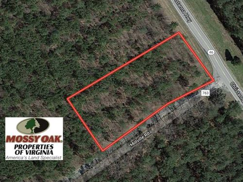 1.14 Acre Residential Lot For Sale : Alberta : Brunswick County : Virginia