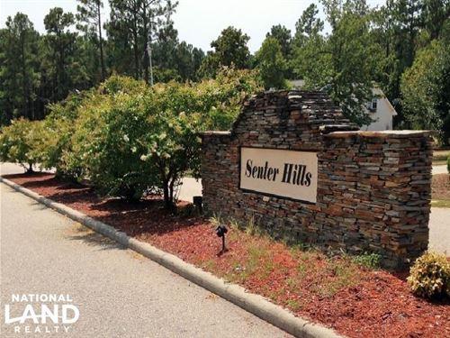 Senter Hills Large Residential Lot : Bunnlevel : Harnett County : North Carolina