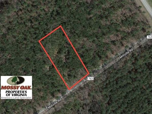 1.0 Acre Residential Lot For Sale : Alberta : Brunswick County : Virginia