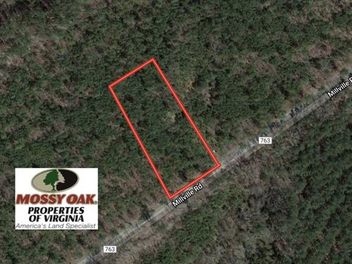 1.20 Acre Residential Lot For Sale : Alberta : Brunswick County : Virginia