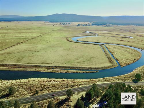 Amazing Sprague River Views : Chiloquin : Klamath County : Oregon