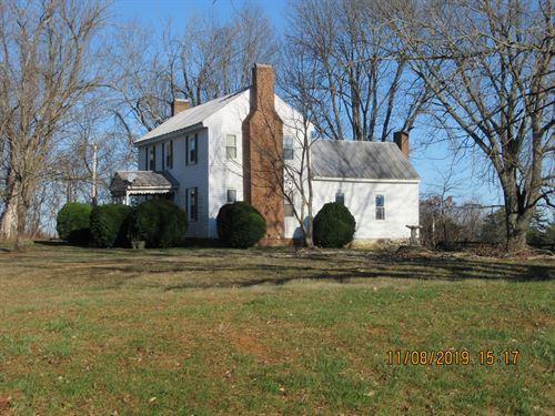Historic Floyd County VA Farm House : Floyd : Virginia