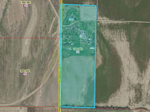 31 Acres Farm Ground at Auction : Palestine : Crawford County : Illinois