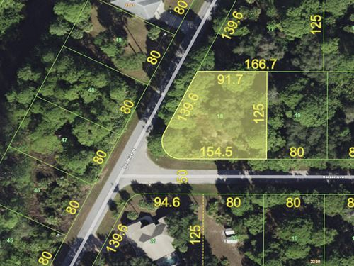 Beautiful Lot in Established Hood : Port Charlotte : Charlotte County : Florida