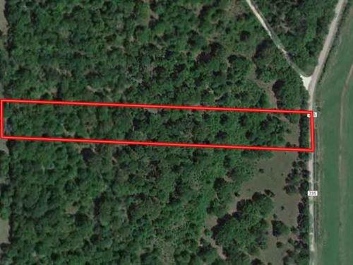 4.2 Acres in Freestone County, TX : Fairfield : Freestone County : Texas