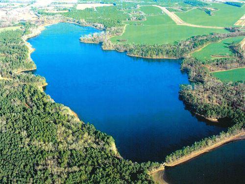 Cantey Bay Lakefront : Saint Paul : Clarendon County : South Carolina