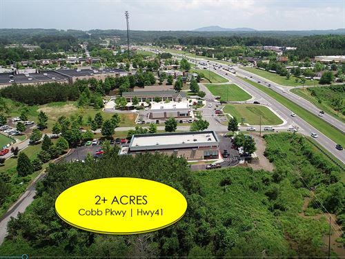 2.31 Acre Commercial Site : Acworth : Cobb County : Georgia