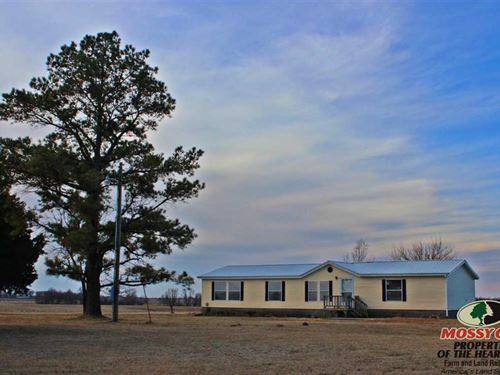 3Bed/2Bath Home on 2.5 Acres : Neodesha : Wilson County : Kansas
