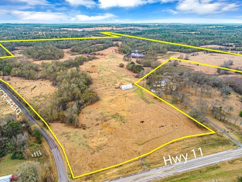 Over 177 Acres Land East Texas : Winnsboro : Wood County : Texas
