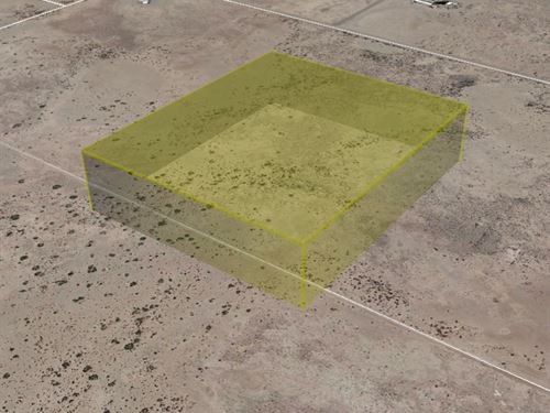Raw Land to Build, 5 Acres : Deming : Luna County : New Mexico