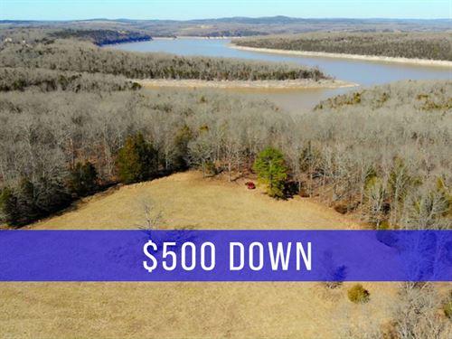 $500 Down on 3 Acres at Lake : Cedarcreek : Taney County : Missouri