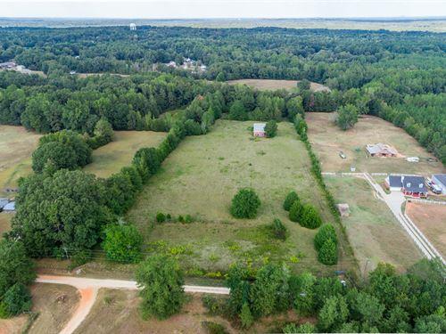 7.79 Acres, 36X80 Building : Covington : Newton County : Georgia