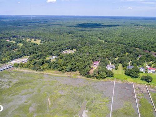 Awendaw Deepwater Homesite : Awendaw : Charleston County : South Carolina