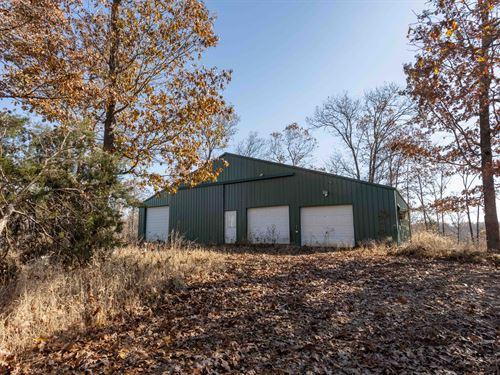 Hunting & Recreational Farm in MO : Falcon : Wright County : Missouri