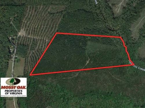 Under Contract, 63 Acres of Timb : Ruther Glen : Caroline County : Virginia