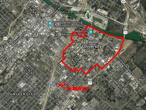 University Area Res, Dev, Lot : Waco : McLennan County : Texas