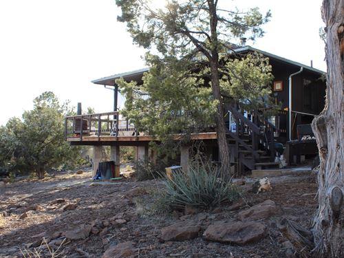 Mountain Hunting Cabin Seligman AZ : Seligman : Yavapai County : Arizona
