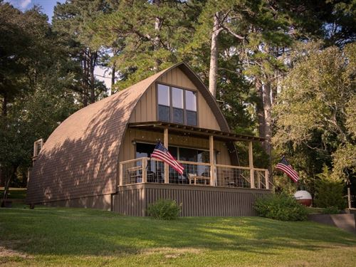 Waterfront Home Private East Texas : Palestine : Anderson County : Texas