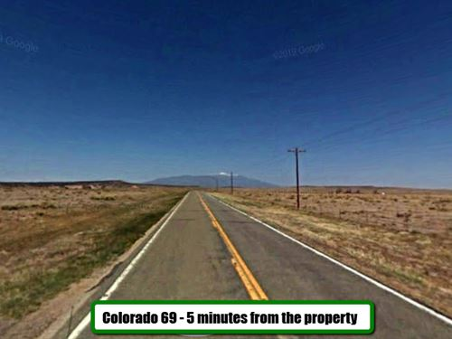 Colorado Lot to Build Your Cabin : Walsenburg : Huerfano County : Colorado