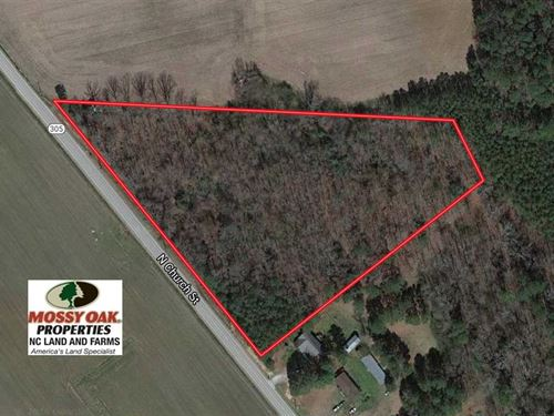 6.18 Acres of Residential Land : Jackson : Northampton County : North Carolina
