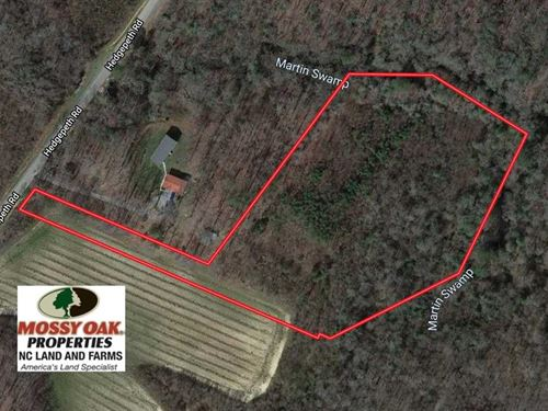 5.9 Acres of Hunting Land For Sale : Halifax : North Carolina