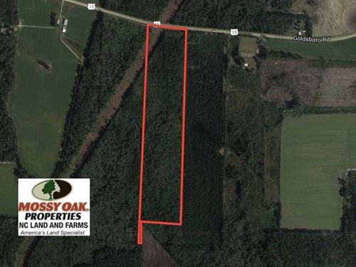 46.62 Acres of Hunting And Timber : Wade : Cumberland County : North Carolina