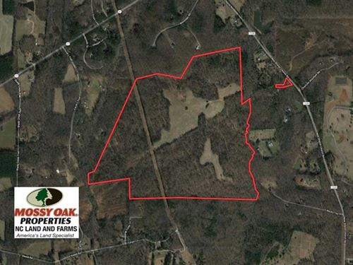 253 Acres of Farm And Timber Land : Rougemont : Orange County : North Carolina