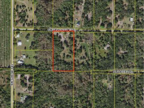 5 Acres In Arcadia, FL : Arcadia : Desoto County : Florida