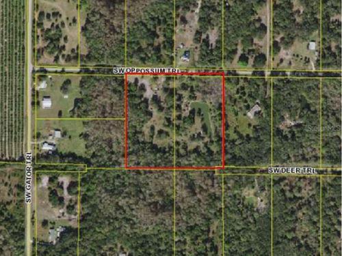 10 Acres In Arcadia, FL : Arcadia : Desoto County : Florida