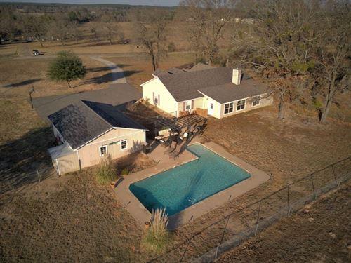 Country Home Pool Frankston TX : Frankston : Henderson County : Texas