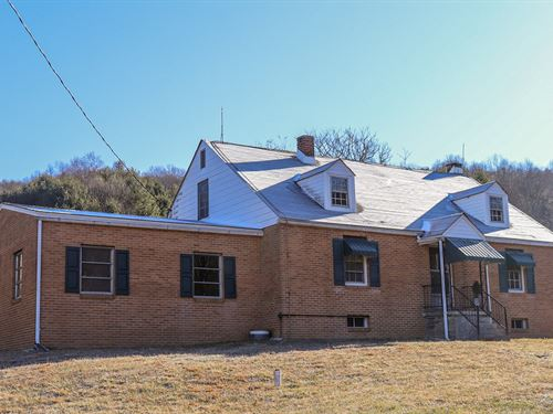 Country Home For Sale in Willis VA : Willis : Floyd County : Virginia