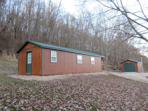 Muskingum County Log Cabin Hunting : Frazeysburg : Muskingum County : Ohio