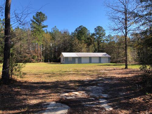 Duck Camp at Pennholoway Creek : Jesup : Wayne County : Georgia