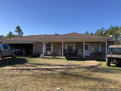 Home on 20 Acres : Brookhaven : Lincoln County : Mississippi