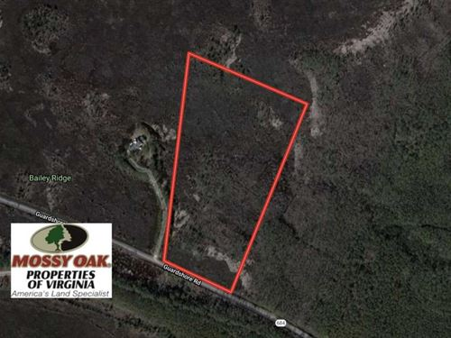 15 Acres of Hunting Land For Sale : Winterville : Accomack County : Virginia