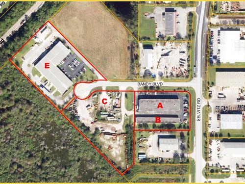 Leased Industrial Portfolio : Fort Pierce : Saint Lucie County : Florida