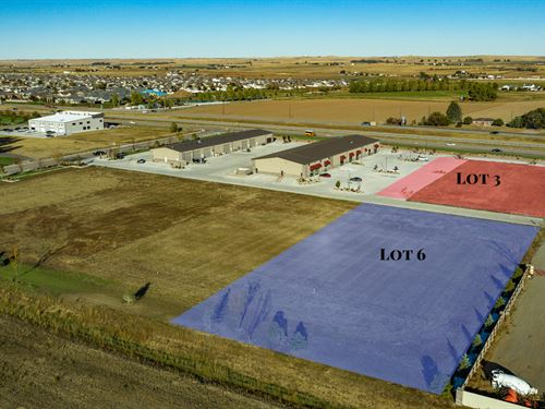 Commercial Land & Building Lot 6 : Wellington : Larimer County : Colorado