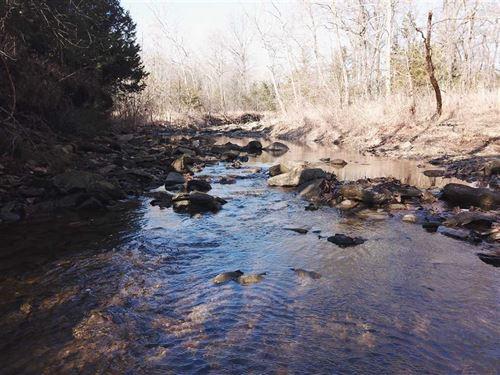 180 Acres on Coon Creek For Sale : Sedan : Chautauqua County : Kansas