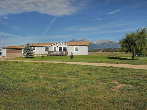 Horse Property Mountains Salida CO : Salida : Chaffee County : Colorado