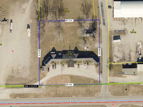 1.7 Acres M/L Business 36 : Chillicothe : Livingston County : Missouri