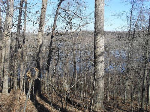 Remote Lake Lot on Nearly 2 Acres : Edwards : Camden County : Missouri