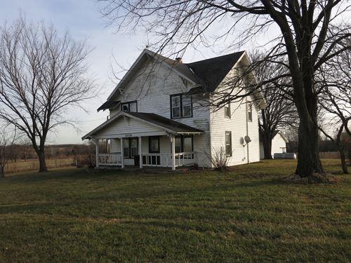 Country Home on 12.8 Acres M/L : Ridgeway : Harrison County : Missouri