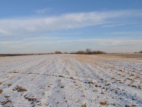 Dekalb County Row Crop Farm w, 4.5 : Weatherby : Dekalb County : Missouri