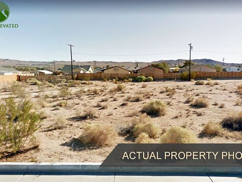 Land in Nice Neighborhood : Ridgecrest : Kern County : California