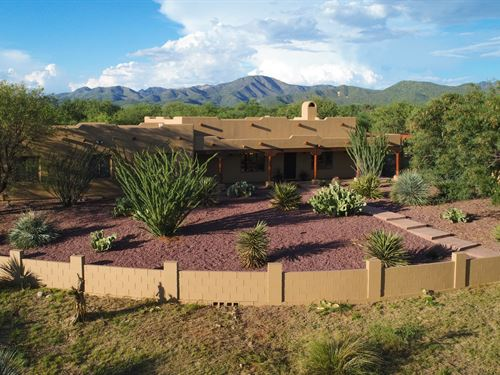 Beautiful Southeast Arizona Home : Nogales : Santa Cruz County : Arizona