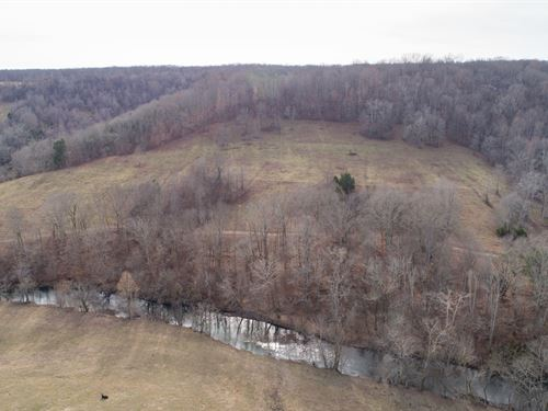 Gorgeous Farm on Big Creek : Lynnville : Giles County : Tennessee