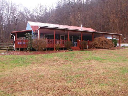 Beautiful 43 Acre Farm : Blue Creek : Adams County : Ohio